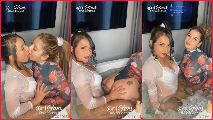 Isabella y Aída segundo video lesbico